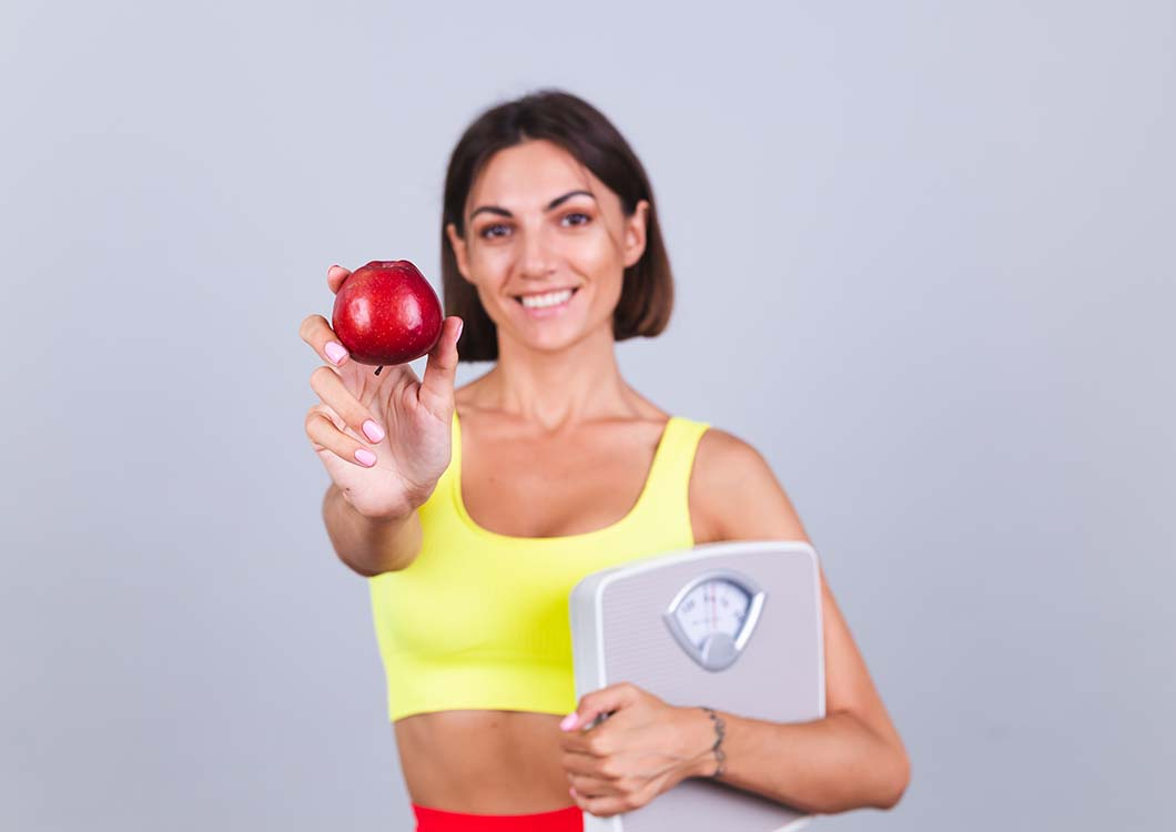 woman metabolism food